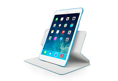 Чехол CAPDASE Folder Case Sider Baco для Apple iPad Mini / Apple iPad Mini с дисплеем Retina - голубой
