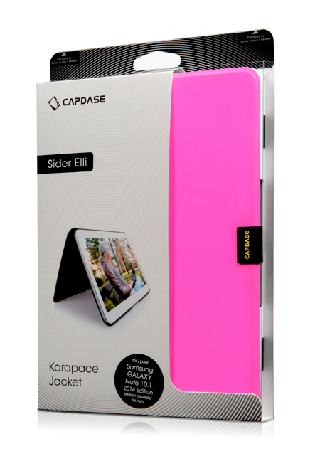 Чехол Capdase Karapace Jacket Sider Elli для Samsung Galaxy Note 10.1 LTE 2014 edition SM-P600 - сиреневый