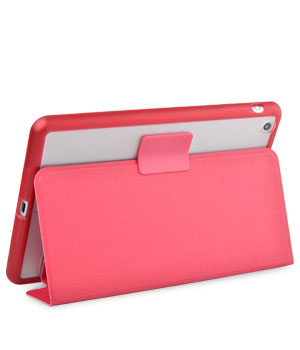 Чехол Melkco Ultra Slim Air Frame PU для Apple iPad Mini / Apple iPad Mini с дисплеем Retina - красный