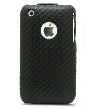 Чехол Melkco для Apple iPhone 3GS/3G - JT - черный карбон