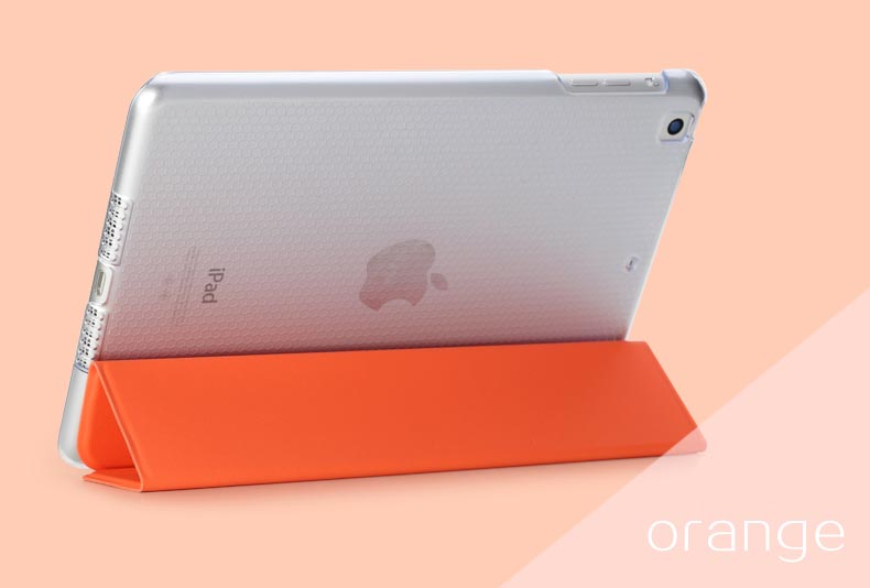 Чехол Rock Touch Series для Apple iPad Mini 3 - оранжевый