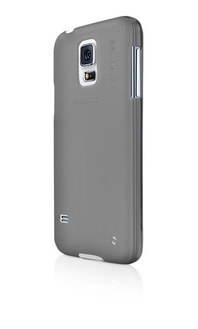 Силиконовый чехол Capdase Soft Jacket Xpose для Samsung Galaxy S5 - серый